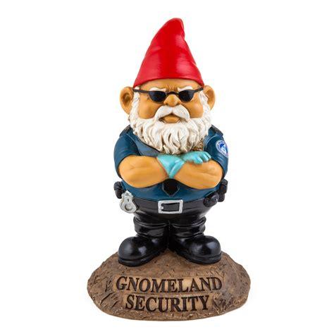 gnomeland security garden gnome bigmouth