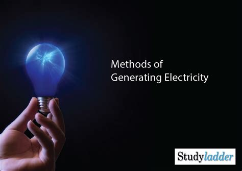 methods of generating electricity 11 slides theme based