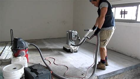 Concrete Floor Sander Rental by Werkmaster Concrete