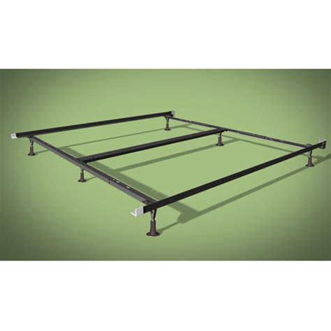 Side Bed Frame Wehsco Insta Lock Deluxe Bed Frame W 6 Legs Plastic Glides King Cal King 1 189 Quot Side Rails