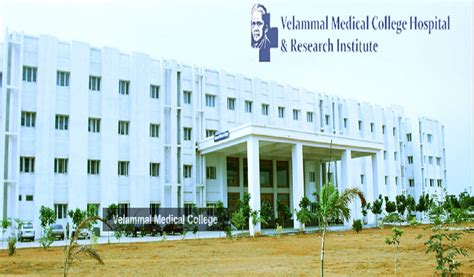Kln College Of Engineering Mba Fees Structure by Fee Structure Of Velammal College Hospital And