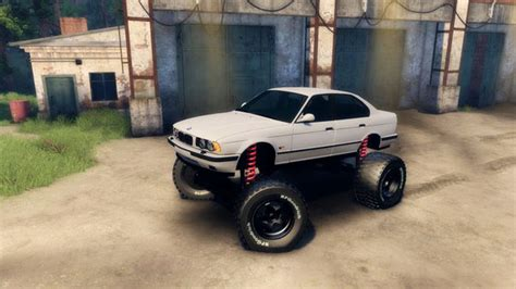 Spintires Car Names Bigfoot Bmw E34 V1 2 Spintires 2014 Mod