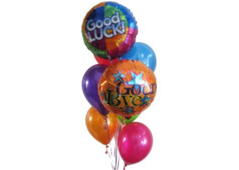Good Bye Balloons Good Luck Balloons Helium Balloons