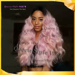roots light hair new synthetic black roots ombre light pink