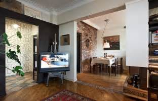 70 Square Meters by Nice Decors 187 Blog Archive 187 Small Apartment With Retro