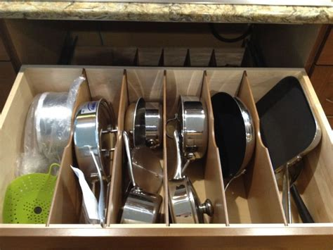 pots and pans drawer pot and pan drawer