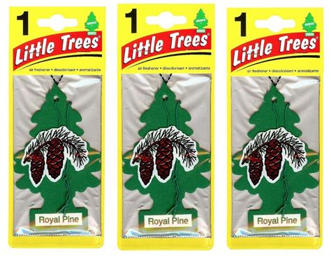 pine tree air freshener decoration royal pine trees hanging car air fresheners 24 pack factory sealed ebay