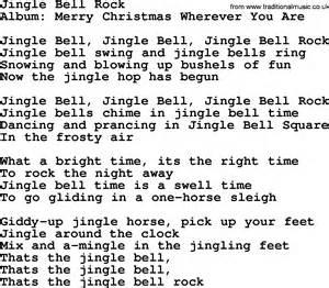 jingle bel rock jingle bell rock lyrics chords