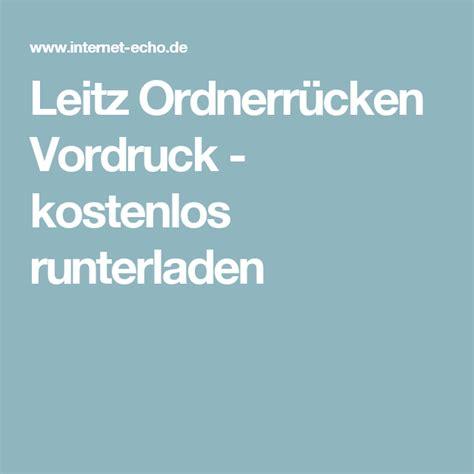 Leitz Etiketten Drucken Kostenlos by Leitz Ordnerr 252 Cken Vordruck Kostenlos Runterladen