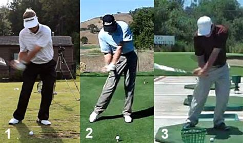 mike bennett golf swing s ter s punch position pitch motion newton golf institute