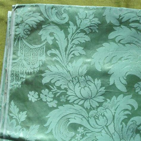 green damask upholstery fabric vintage damask upholstery fabric sage green large