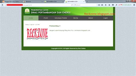 tutorial deface bypass admin cara deface dengan bypass admin login reckzone