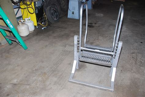 Osha Step Stool stainless steel osha safety step stool ladder nsf food nopl inv 2764 ebay