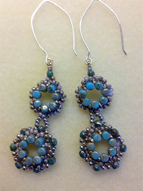 beaded flower earring patterns 1061 best images about beaded earring patterns tutorials
