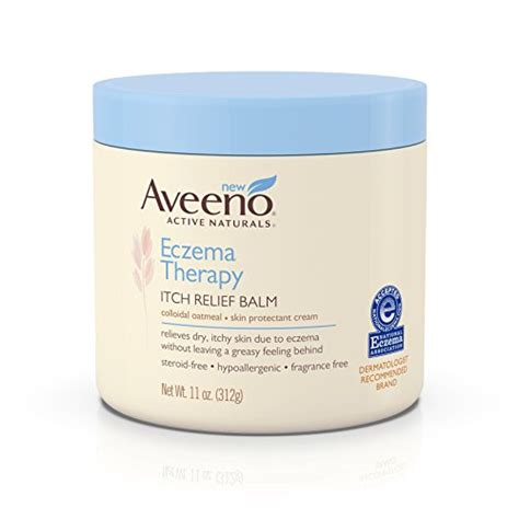 Aveeno Eczema Therapy aveeno eczema therapy itch relief balm 11 ounce import