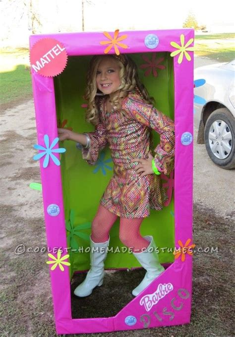 Coolest Handmade Costumes - coolest costume for a disco in a box