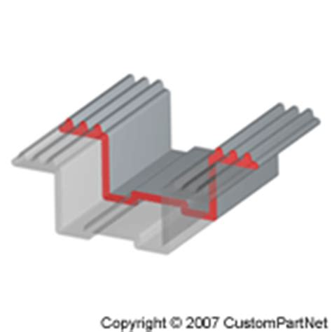 uniform cross section part geometry