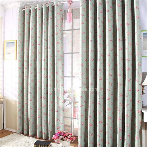 large curtains ready made country floral blackout two panels large ready made curtains