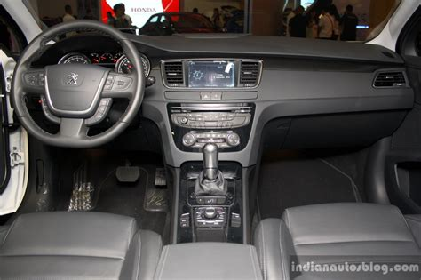 peugeot 508 interior 2016 peugeot 508 interior at the philippines motor show 2014