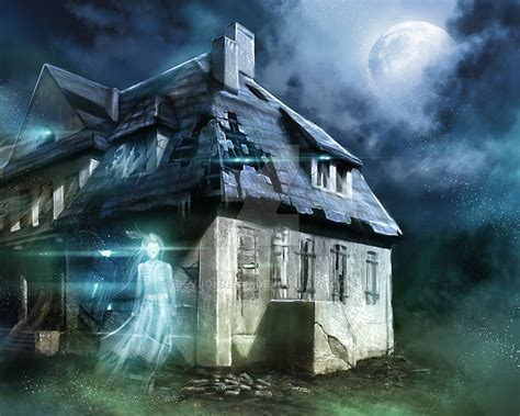 manor haunted house haunted manor house by devjohnson on deviantart