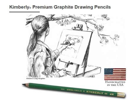 6h Kimberly Drafting Pencils By General Pencil Pkg Of 12