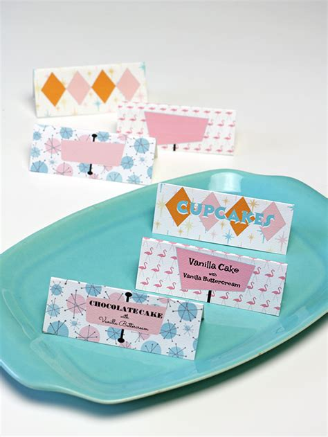 materials required for greeting cards customizable mid century dessert cards alana jones mann