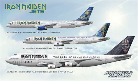 Eddie And The Jets Book Reports by Iron Maiden Ed One Jets G Ojib G Strx Tf Aak Airline