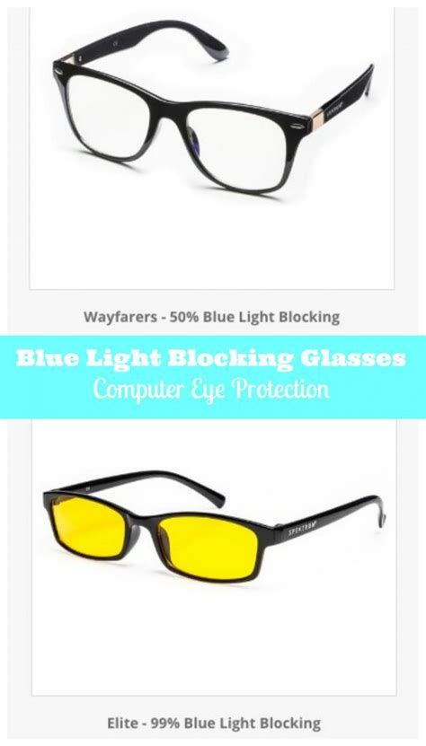 best blue light blocking glasses spektrum blue light filter glasses review family focus blog