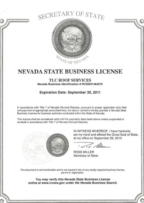 service license license tlc roof services