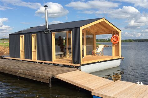 Cabin Houses the floating modular home mobile solutions from russia