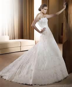wedding dresses 2011 collection pronovias 2011 wedding dress collection beautiful bridal gowns wedding inspirasi