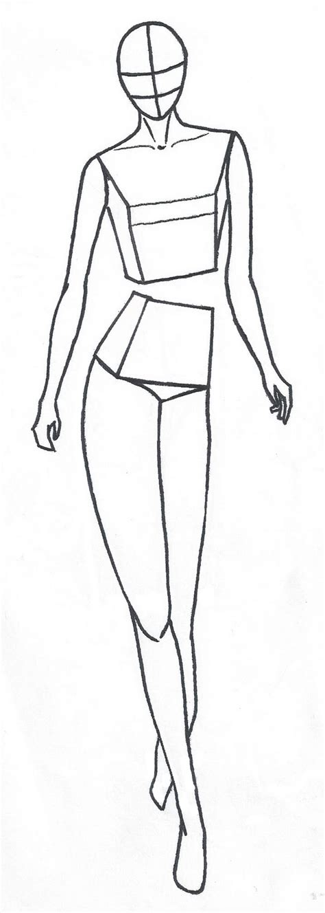 Figure Templates For Fashion Illustration free fashion figure templates are here enter your
