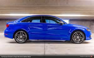audi exclusive s3 sedan in nogaro blue photo matthew