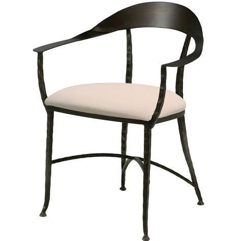 Iron Dining Chairs Hudson Wrap Dining Chair Charleston Forge
