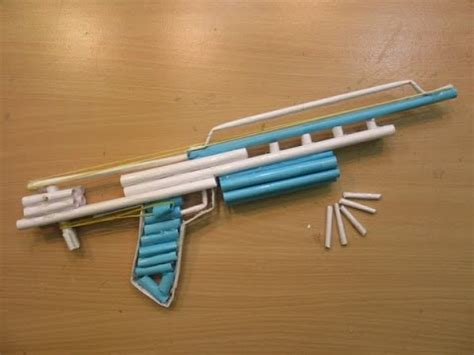How To Make A Pistol Out Of Paper - how to make a paper gun that shoots paper pistol