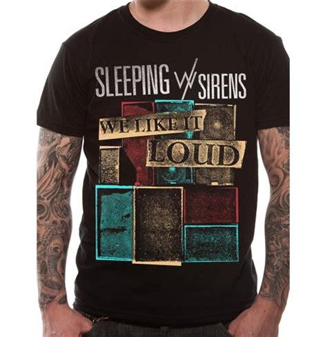 Tshirt Kaos Sleeping With Sirens official sleeping with sirens t shirt 208117 buy