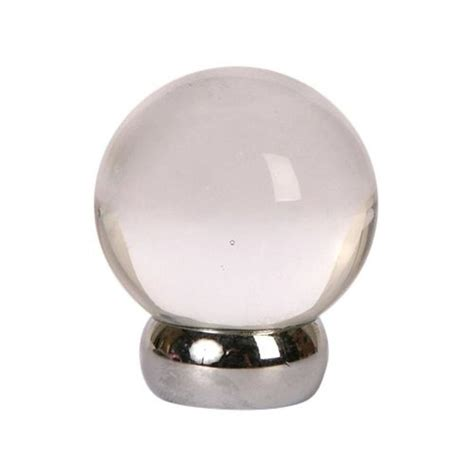 shop lew s hardware glass ball globe cabinet knob at lowes com
