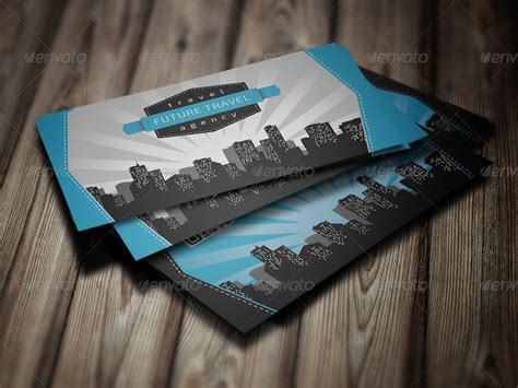 Graphicriver Travel Agency Business Card Design Template by Travel Agency Business Card By Eldis Design Graphicriver