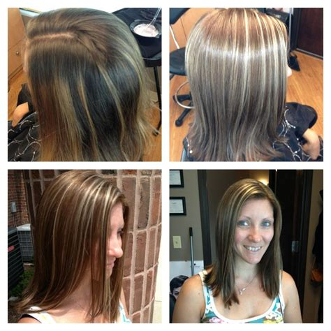 fine blonde highlights blonde highlights light brown hair hairstyles for thin