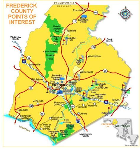 maryland map frederick frederick county real estate frederick county homes for