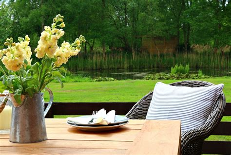 Our Country Cottage Comfort And Views On The Patio Cottage Patio Furniture