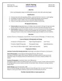 sample professional photographer resume 2 - Professional Photographer Resume
