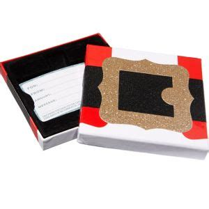 Buckle Gift Card - santa s belt buckle gift card holder box 4in x 4in party city