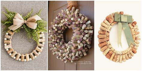 diy designs how to make wine cork wreaths wine cork wreaths crafts
