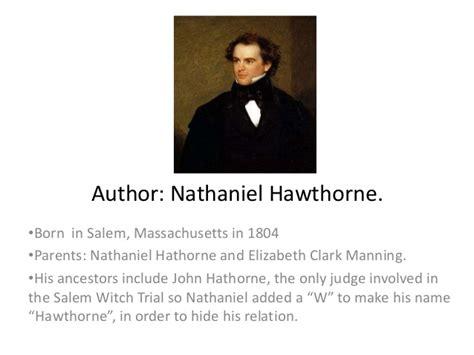 nathaniel hawthorne biography essay nathaniel hawthorne