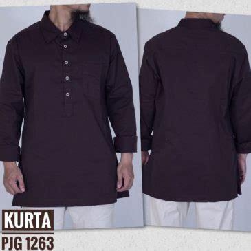 Kurta Samase Navy Lengan Panjang gamis kurta samase lengan panjang 1263 brown samase clothes
