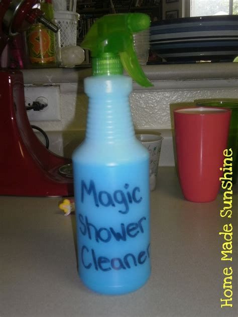 homemade bathroom cleaner with vinegar home made shower cleaner using vinegar and blue dawn