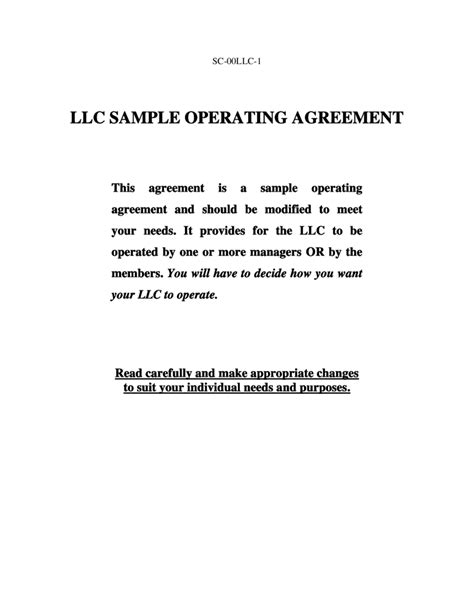 Llc Operating Agreement Amendment Template Edit Fill Sign Online Handypdf Amendment To Llc Operating Agreement Template