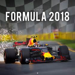 F1 2018 Kalender 2018 Formula 1 Wall Calendar F1 Formula One With Quot Free