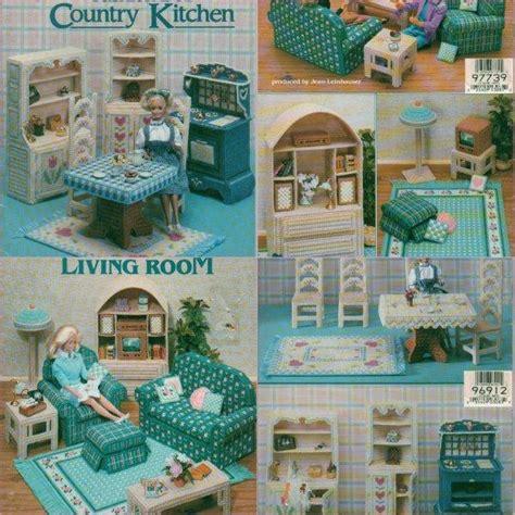 fashion doll furniture patterns plastic canvas doll furniture patterns